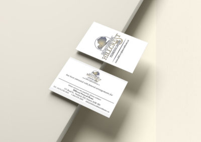 Hillcrest Funeral Home Stationery